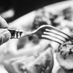 Essen mit Gabel